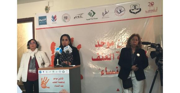 """منظمات نسوية تعلن عن إطلاق """"قوة العمل من أجل قانون موحد لمناهضة العنف ضد النساء"""""""