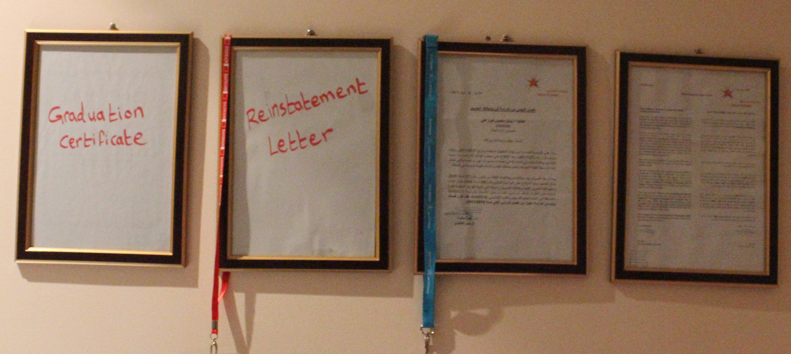 The Story of the Papers on My Wall | Nazra for Feminist Studies